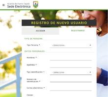 Formulario de registro de usuario